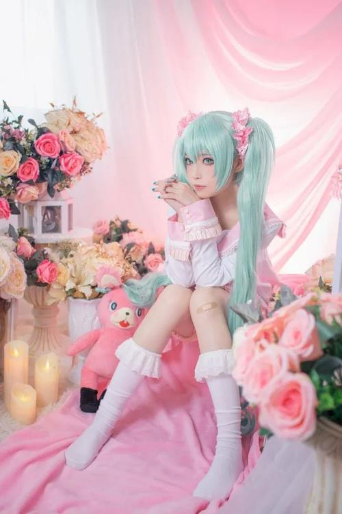 cosplay泳装初音